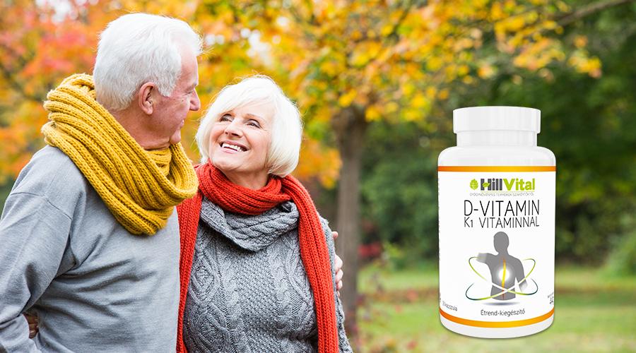 A D-, és K-vitamin együttesen hozzájárulnak az immunrendszer és a csontozat egészségéhez.