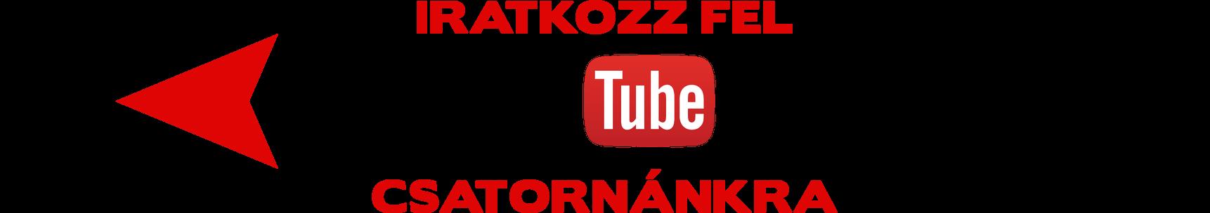 Youtube feliratkozás